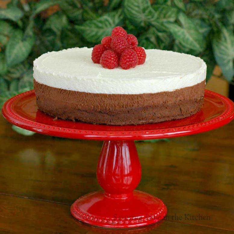 Triple Layer Chocolate Cake Au