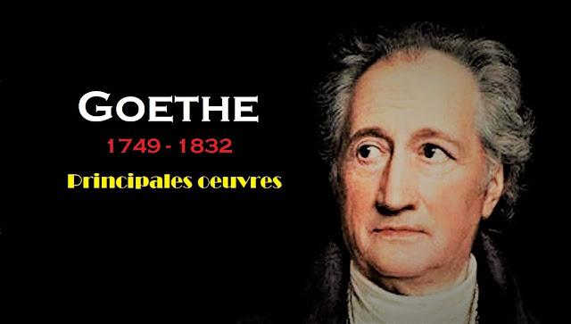 Le poète et romancier allemand Johann Wolfgang von Goethe.