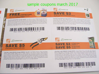 Home Depot coupons march
