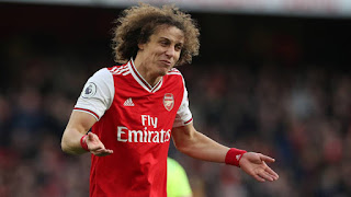 Arsenal willing to offer David Luiz another one-year contract extension