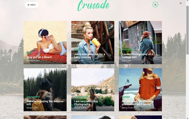 Crusade Blogger Template 2020 Download Premium by Pro Blogging Tips