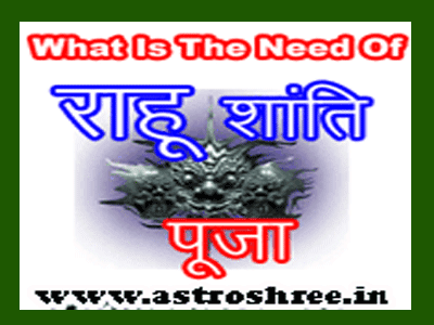 Rahu Shanti pooja and remedies of rahu problems by astrologer of india.