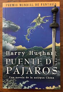 Portada del libro Puente de pájaros, de Barry Hughart
