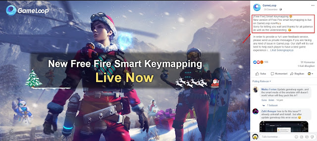 Cara Mengatasi Error Free Fire Gameloop Pemberitahuan Smart Key Failure