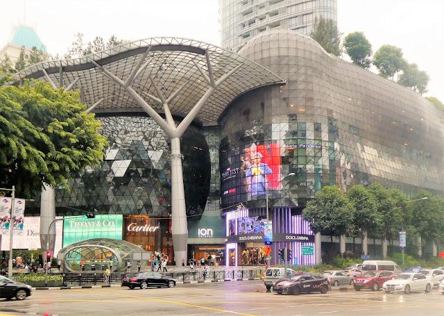 lyxshopping i Singapore