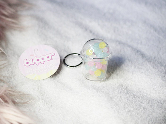Colorful Candy Cup Keychain
