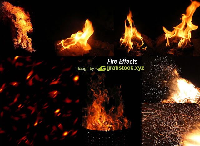 Free Download RAR - Fire Effect Stock Pack