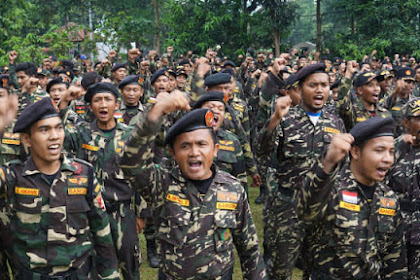 Ribuan Anggota Banser Sisir Kelompok Anti-NKRI di Papua