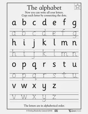 Free Worksheets » Abc Handwriting Practice Sheets - Free Math ...