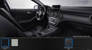Mercedes A200 2019 màu Nội thất Đen 111