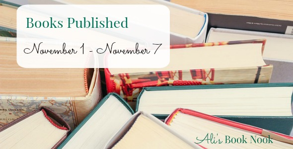 new books published November 1 - November 7