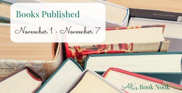 new books published November 1 - November 7