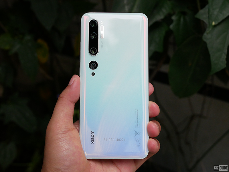 108MP Xiaomi Mi Note 10 Pro arrives in the Philippines, priced at PHP 29,990