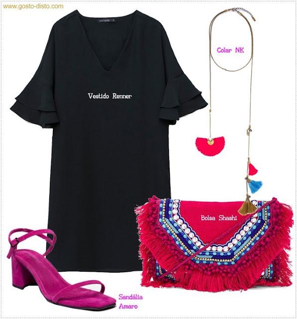 Vestido tubinho preto básico maneiras de usar e abusar