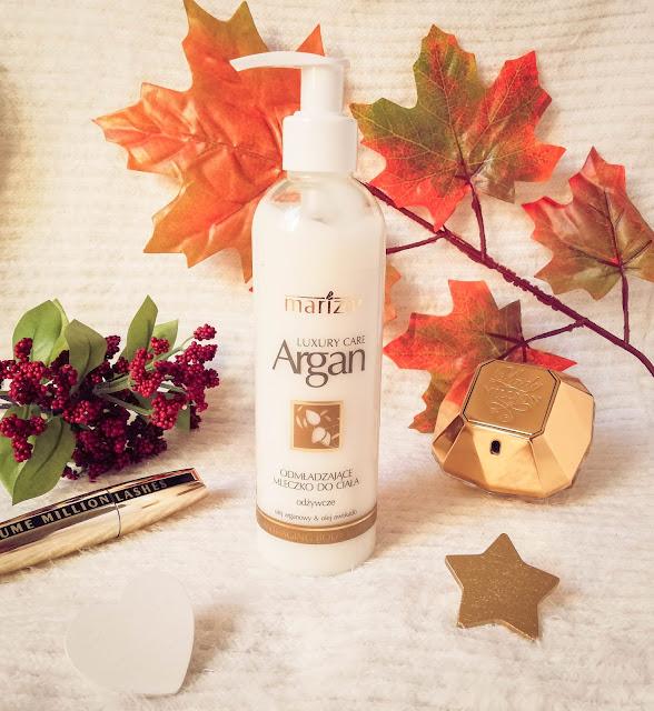Mariza |  Luxury Care Argan | Odmładzające mleczko do ciała