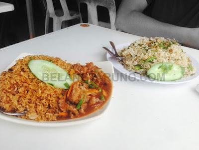 Nasi Bukit Portion Banyak Daging Paprik Nasi Goreng Kampung