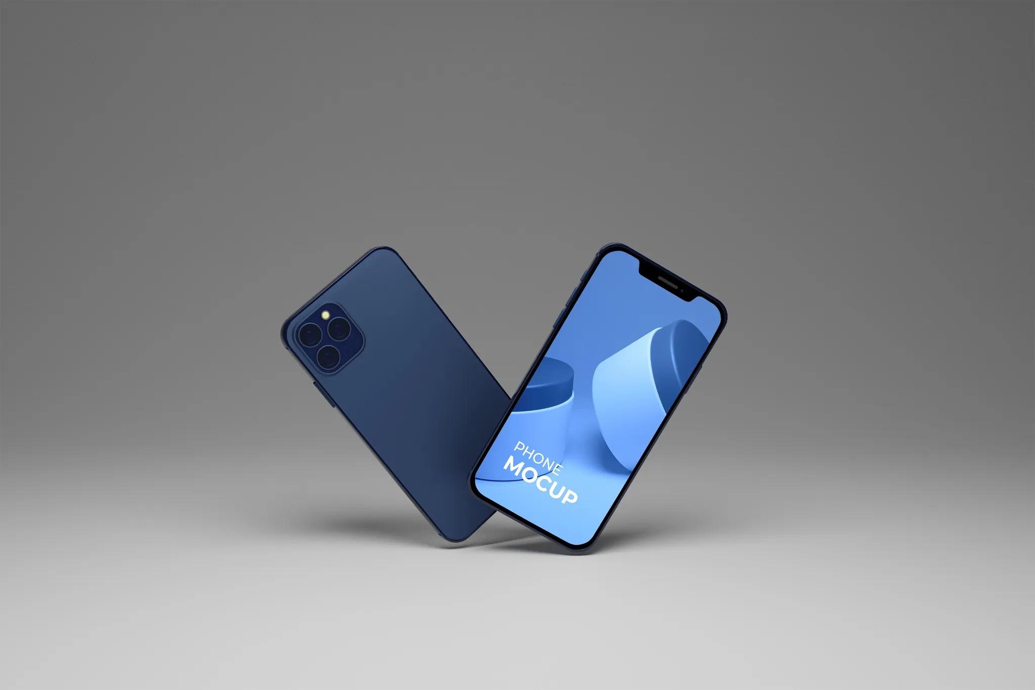 iPhone PSD Mockups