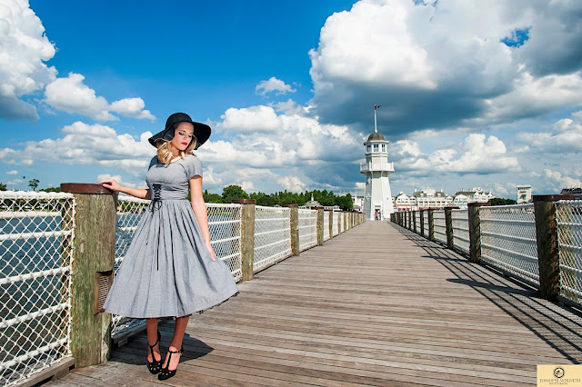 Boardwalk Disney senior portraits