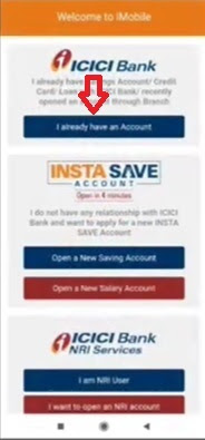 How to activate ICICI iMobile App