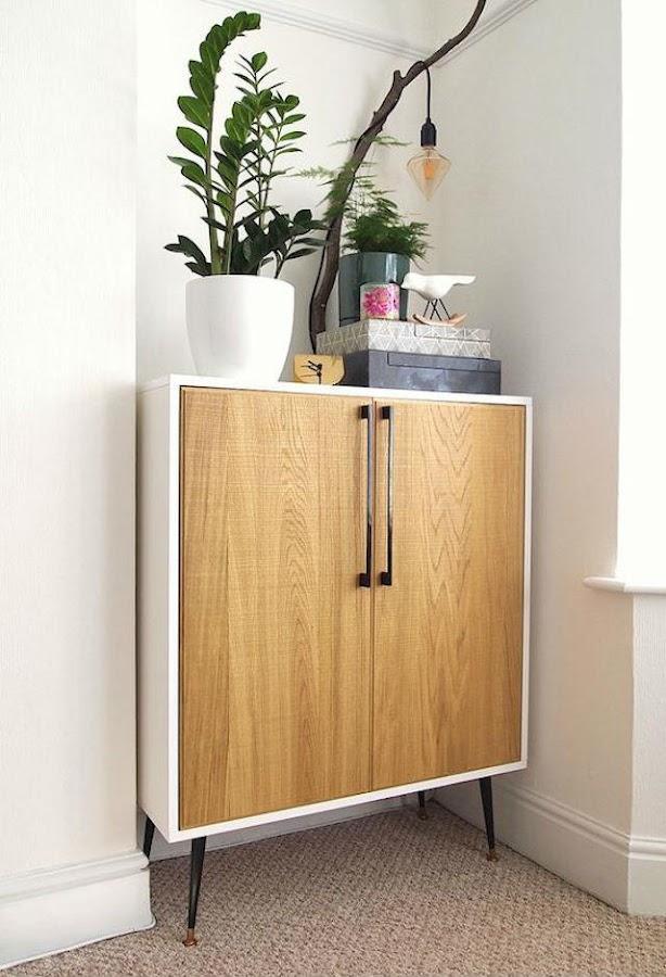 Mueble de Ikea customizado con tiradores