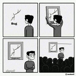 bug is a feature memes