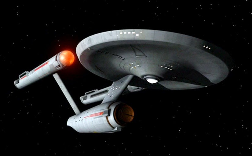star trek life sized replica of the ship uss enterprise