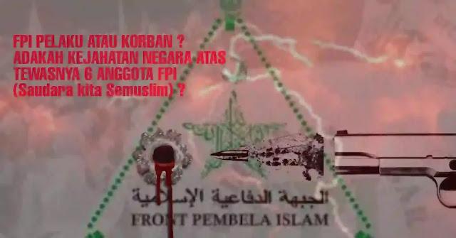 6 (enam) anggota Front Pembela Islam (FPI) dikabarkan meninggal dunia karena tembakan. Kepolisian menyebut, Enam dari 10 pengikut Habib Rizieq Shihab (HRS) tewas ditembak polisi di Tol Jakarta-Cikampek dini hari tadi.  Kapolda Metro Jaya Irjen Fadil Imran mengatakan, anggota Polri yang sedang melaksanakan tugas penyelidikan terkait rencana pemeriksaan HRS, mendapat informasi adanya rencana pengerahan massa mengawal HRS, Tim kepolisian kemudian melakukan pembuntutan terhadap kendaraan pengikut Habib Rizieq di Tol Jakarta-Cikampek.