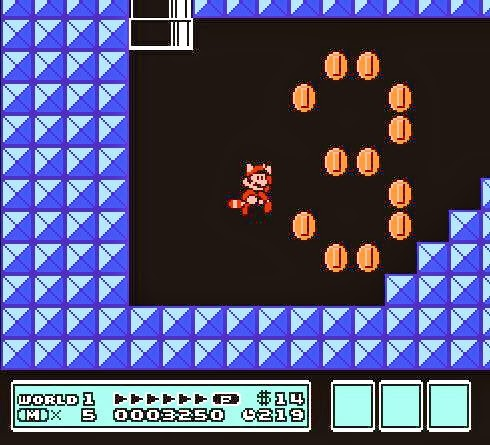 Pantalla Super Mario Bross 3 : Mundo 5