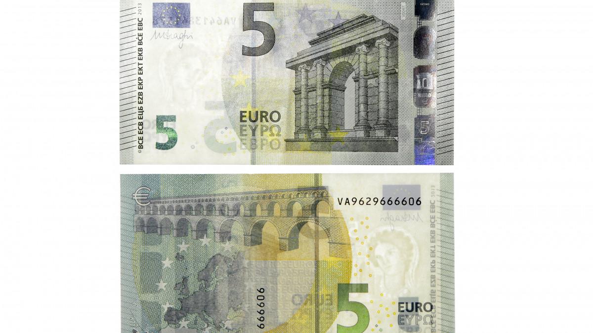 Τα νέα χαρτονομίσματα των 5 ευρώ - Δείτε τι αλλάζει (φωτο)