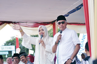 <b>Pawai Ta&#39;ruf STQ ke-25 tingkat Kabupaten Bima Berlangsung Meriah</b>