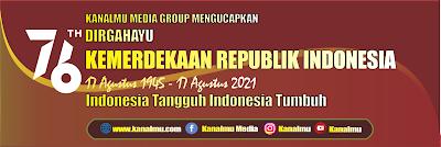 download spanduk banner ucapan dirgahayu HUT RI 76 tahun 2021 format CDR X7 - kanalmu
