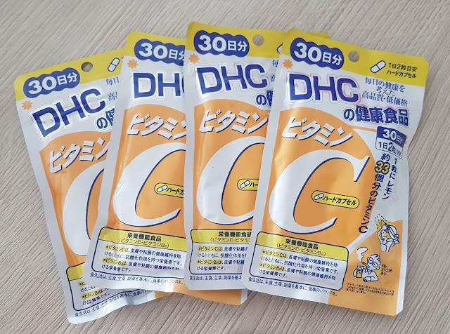 Viêm uống Vitamin C - DHC, Hàng Nhật