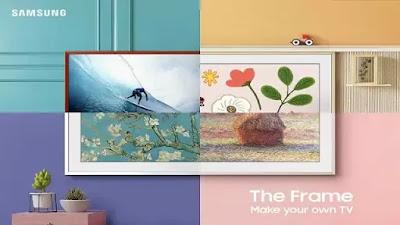 सैमसंग द फ्रेम टीवी भारत में लॉन्च हुआ, एक आर्ट फ्रेम के रूप में कार्य करने के लिए काफ़ी पतला है