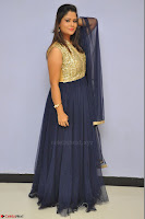 Shilpa Chakravarthy anchor and actress in anarkali dress  Exclusive 017.JPG