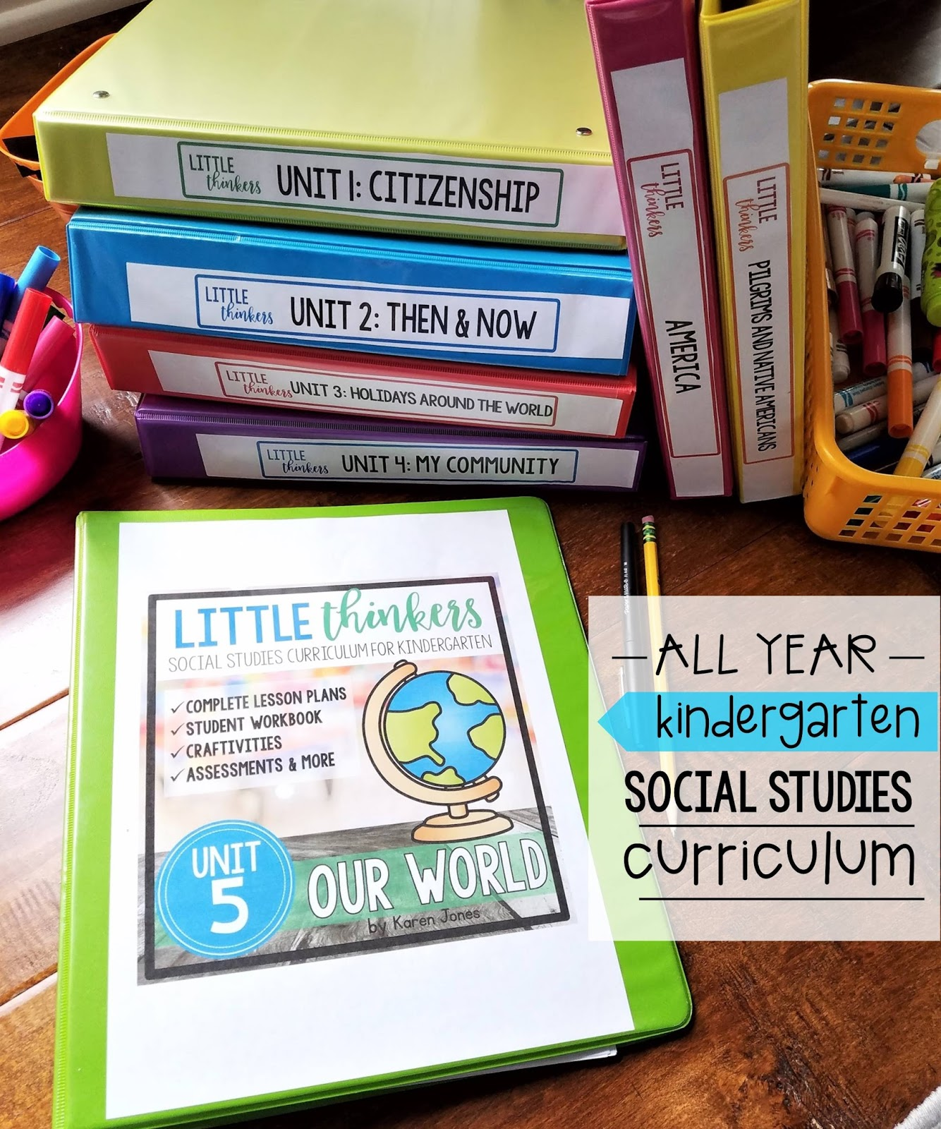 Little Kindergarten Social Stu S Thinkers Unit 5 Our World