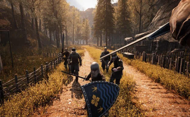 In the game Vikings: Age of the Ax, we will beat the enemies for the glory of the Nordic gods