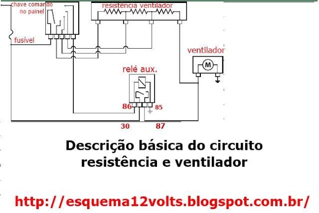 Schema Elettrico Roulotte Knaus : Circuito eletrico de ventilador teto controle remoto
