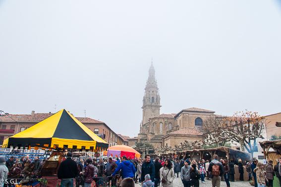 Santo Domingo de la Calzada y su mercado medieval. La Rioja