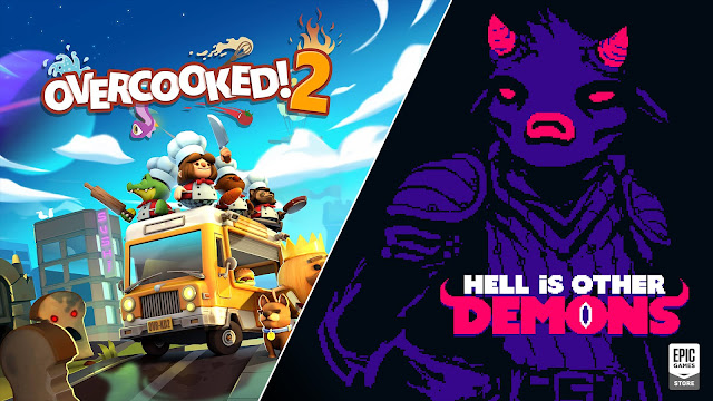 Epic 商店限時免費領取《Overcooked! 2》及《Hell is Other Demons》