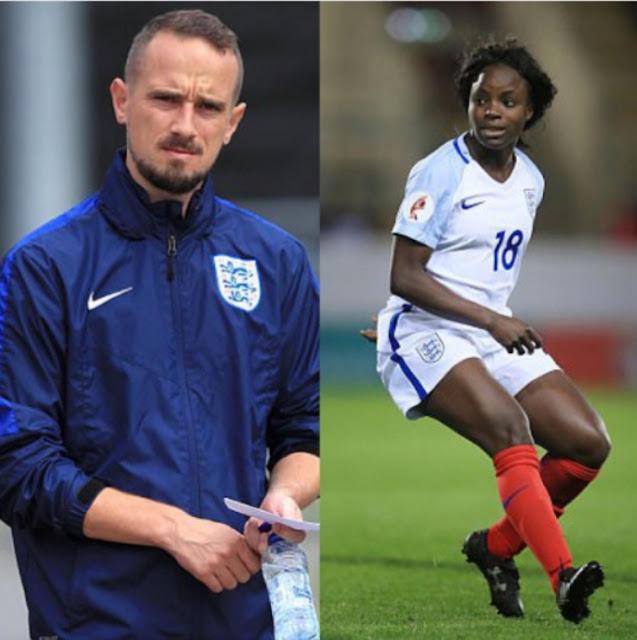 England women's football star/coach