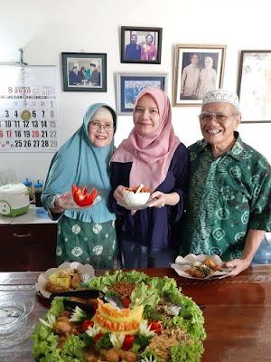 syukuran hari ulang tahun papaku tercinta nurul sufitri travel lifestyle blogger culinary event ke 70 dan 71