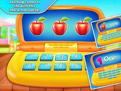 Kids Computer Latest APK learn through interactive laptop