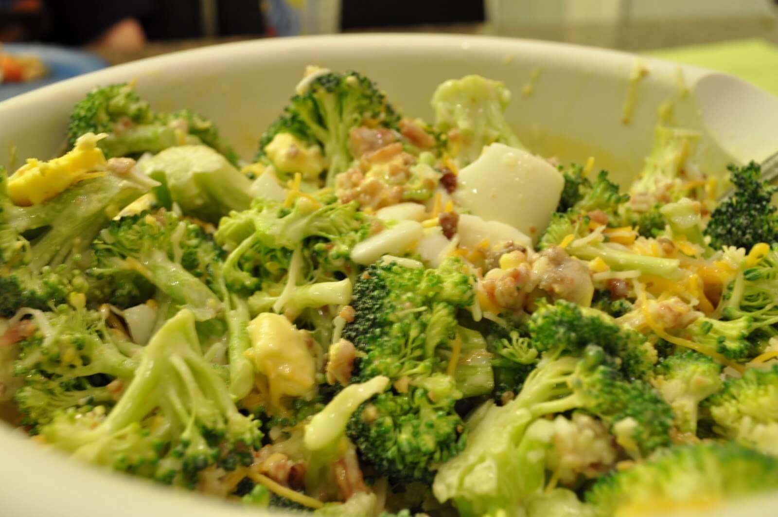Egg-Broccoli Salad