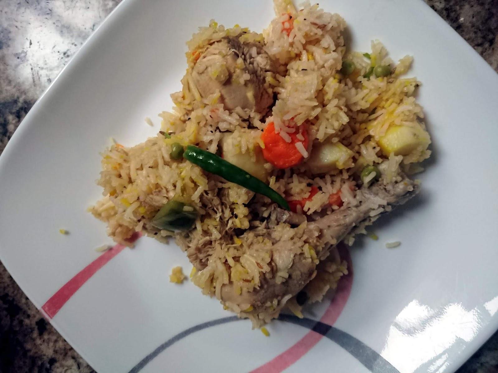Chicken & Veggie Rice