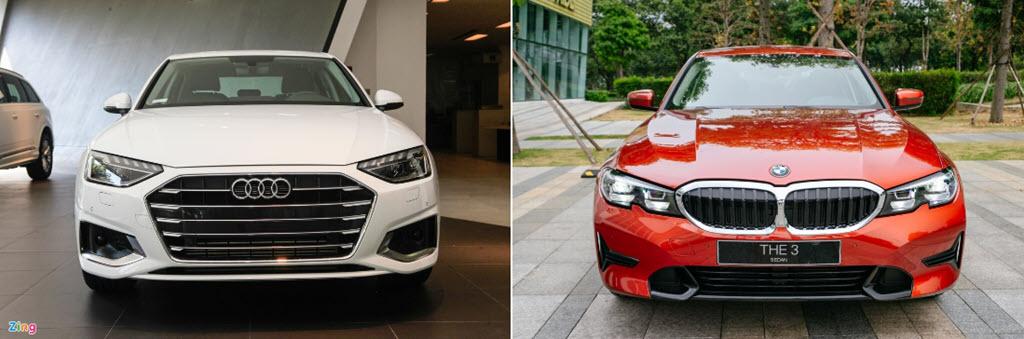 Tầm giá 2 tỷ đồng chọn Audi A4 hay BMW 3-Series