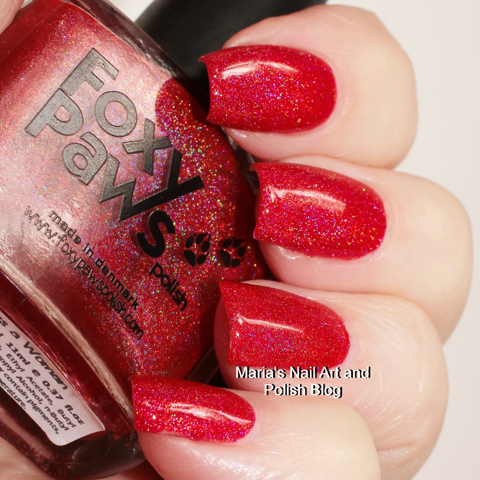 Marias Nail Art And Polish Blog Flushed With Stripes And: Marias Nail Art And Polish Blog: Foxy Paws It Take A Woman