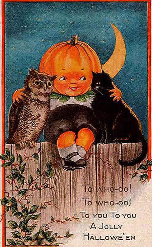 halloween clip art vintage - photo #8