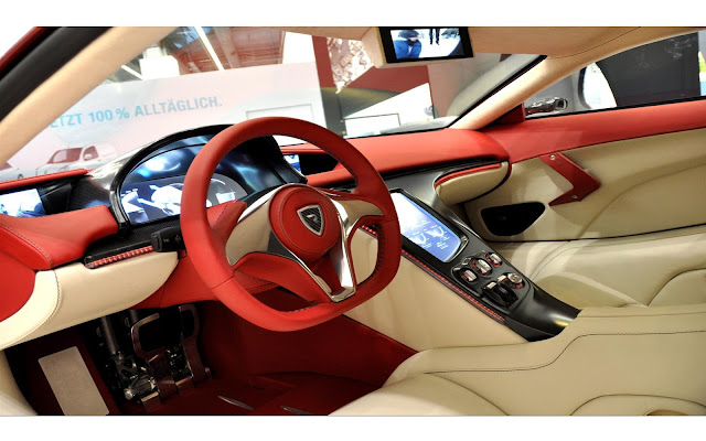 Interior del Rimac Concept One