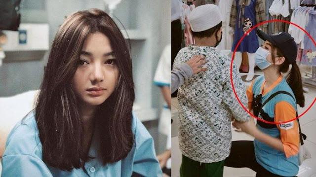 Potret Gadis Bertopi Belikan Baju Baru untuk Anak Yatim di Mall Tuai Pujian, Ternyata Glenca Chysara