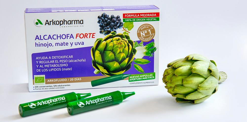 Ampolletas de alcachofa para bajar de peso nutrisal